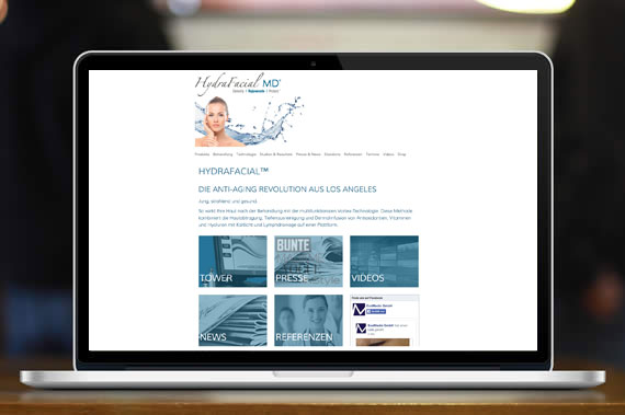 website hydrafacial